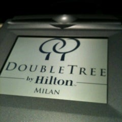 Photo taken at DoubleTree by Hilton Hotel Milan by joohee l. on 7/15/2012