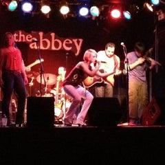 Photo taken at Abbey Pub by Jenn B. on 3/16/2012