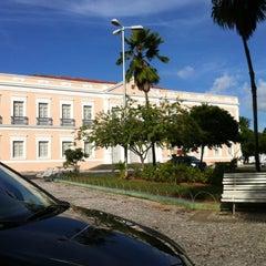 Photo taken at Palácio Potengi (Pinacoteca Potiguar) by Marily G. on 5/4/2012
