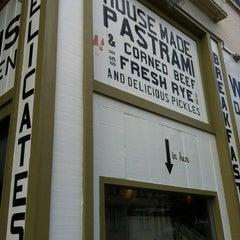 Photo taken at Wise Sons Jewish Delicatessen by Kristina W. on 3/31/2012