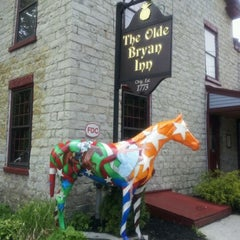 Photo taken at Olde Bryan Inn by De'Mesha A. on 5/9/2012