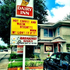 Photo taken at Dairy Inn by Ramsey M. on 6/27/2012