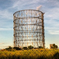 Photo taken at Gazometro by Davide F. on 5/8/2012