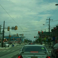 Photo taken at Septa Trolley 52nd St & Lancaster  ave by Kevin D. on 8/4/2012