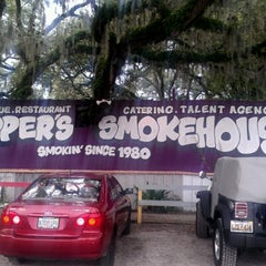 Photo taken at Skipper's Smokehouse by Stephany M. on 8/5/2012