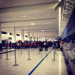 Photo taken at Manchester International Airport (MAN) by Malinee P. on 8/17/2012
