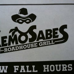 Photo taken at KemoSabes Roadhouse Grill by Jacob B. on 5/27/2012