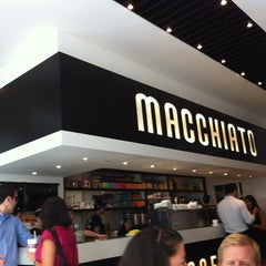 Photo taken at Macchiato Espresso Bar by Adrián E. on 8/16/2012