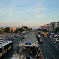 Photo taken at Avcılar Metrobüs Durağı by Deniz Ö. on 9/13/2012