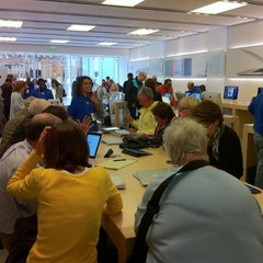 Photo taken at Apple Store, Century City by f on 5/18/2011