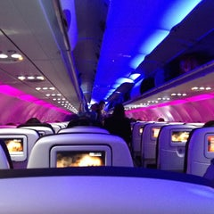 Photo taken at Virgin America by Josh Z. on 3/8/2012