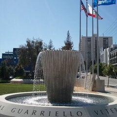Photo taken at Sal Guarriello Veterans' Memorial by Jeff D. on 4/15/2011