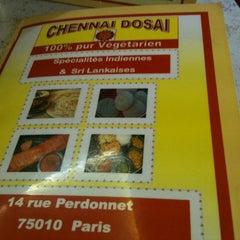 Photo taken at Chennai Dosai by Gayané A. on 10/28/2011