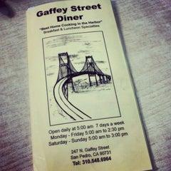 Photo taken at Gaffey Street Diner by Jen V. on 4/19/2012