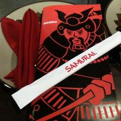 Photo taken at Samurai by Yamile I. on 2/18/2012