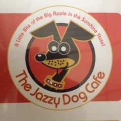 Photo taken at Jazzy Dog Cafe by Connor K. on 4/17/2012