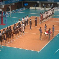 Photo taken at Complejo Panamericano de Voleibol by jorge c. on 10/29/2011
