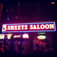 Photo taken at 3 Sheets Saloon by Jessica B. on 7/3/2012