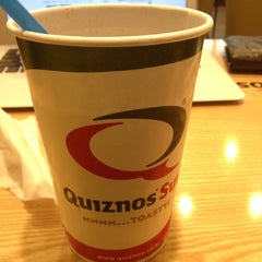Photo taken at Quiznos Sub by jae moon s. on 3/13/2012