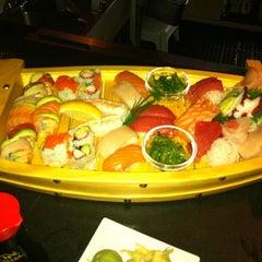 Photo taken at Sakura Japanese Restaurant by Laine M. on 5/1/2011