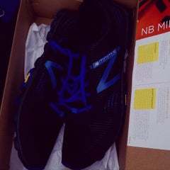 Photo taken at New Balance by Eric R. on 4/25/2012