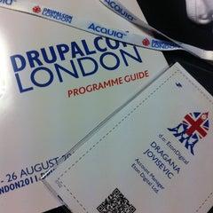 Photo taken at DrupalCon London by Dragana on 8/22/2011