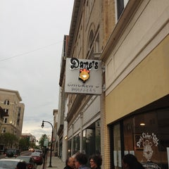 Photo taken at Dame's Chicken & Waffles by Michael W. on 4/5/2012