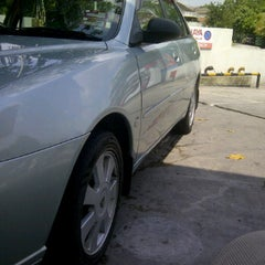 Photo taken at Caltex by Hood I. on 6/13/2012
