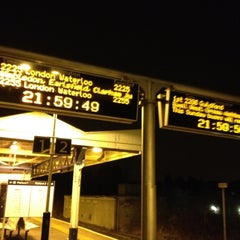 Photo taken at Stoneleigh Railway Station (SNL) by Alistair on 3/9/2012