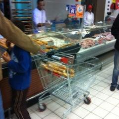 Photo taken at Carrefour Market - Boumhel by Imen A. on 12/4/2011