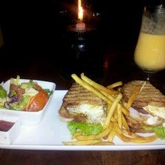 Photo taken at Pedlars Inn Cafe by K H. on 7/23/2012