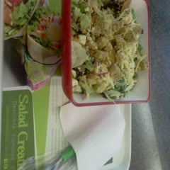 Photo taken at Salad Creations by Hildegarhd R. on 2/17/2012