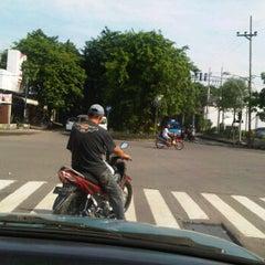 Photo taken at Perempatan Yakaya by Denny K. on 12/18/2011