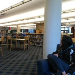 Photo taken at Princeton Public Library by Monica B. on 3/16/2012