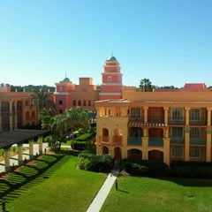 Photo taken at Disney's Coronado Springs Resort and Convention Center by Goran J. on 1/19/2012