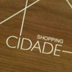 Photo taken at Shopping Cidade by Thiago F. on 1/11/2011