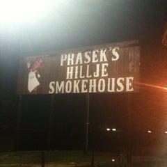Photo taken at Prasek's Hillje Smokehouse by Carmon P. on 1/24/2011