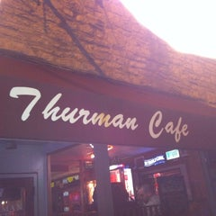 Photo taken at The Thurman Cafe by Vicki S. on 9/18/2011