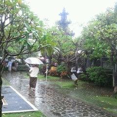 Photo taken at Pura Luhur Candi Narmada Tanah Kilap by Media S. on 1/8/2012