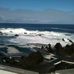 Photo taken at Piscinas Naturais do Porto Moniz by Sofia J. on 11/10/2011