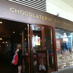 Photo taken at Chocolateria San Churro by Glenn B. on 4/15/2011