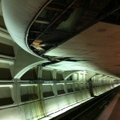 Photo taken at Farragut North Metro Station by Mike C. on 7/20/2011
