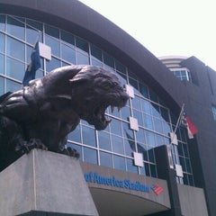 Photo taken at Bank of America Stadium by Adia R. on 8/11/2012