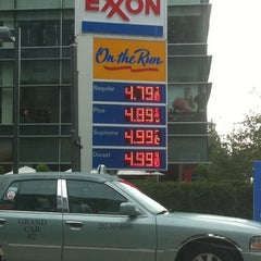 Photo taken at Exxon by Breanna B. on 8/5/2011