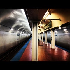 Photo taken at CTA - Grand (Blue) by Dawon H. on 7/9/2012