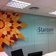 Photo taken at Starcom by Oscar B. on 9/12/2011