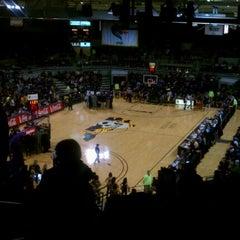 Photo taken at Minges Coliseum by Mitch Rich-Boy J. on 2/9/2012