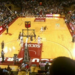 Photo taken at TD Arena, College of Charleston by Andy C. on 1/13/2012