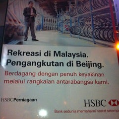 Photo taken at HSBC Bank by Shin T. on 3/6/2011
