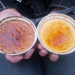 Photo taken at The Crème Brûlée Cart by Lily Y. on 6/23/2012